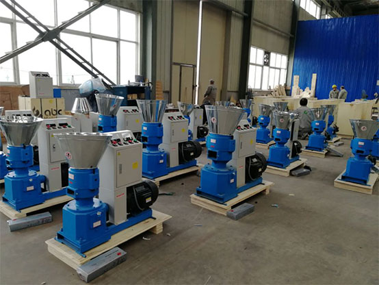 GEMCO small pellet mill with electric motor