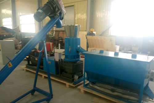 Screw conveyor and diesel pellet machine project