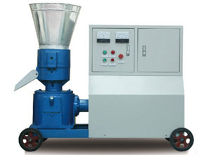 D-type wood pellet machine with fully covered electric motor