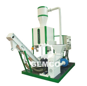 mobile small pellet plant