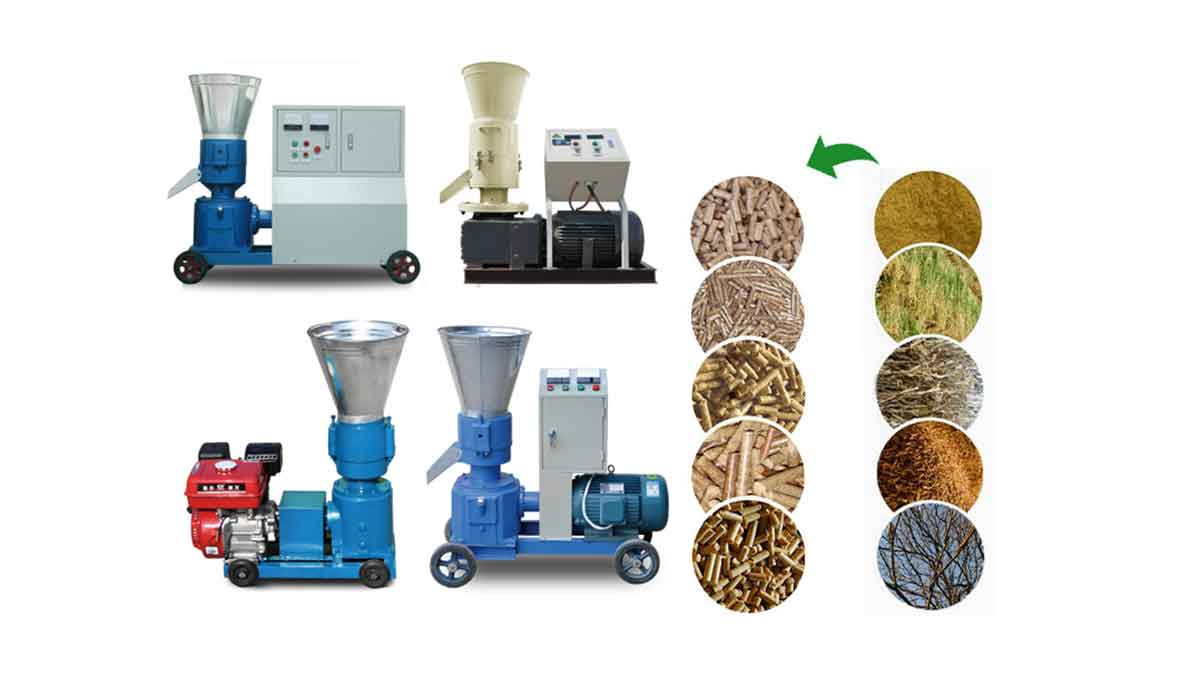 Performance characteristics of small pelletizing machine